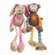 Lily and George - Louie and Lotty https://babystuff.co.nz/products/lily-george-louie-and-lotty Adorable wee rattles from Lily and George. Lotty and Louie stand 25cm tall they are a bright and bubbly, easy for small hands to hold with a rattle to keep your wee ones happy.Sold individually.
