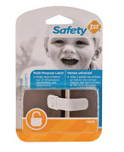 Safety 1st - Multi-Purpose Latches - 2 pce https://babystuff.co.nz/products/safety-1st-multi-purpose-latches-2-pce Safety 1st Multi-Purpose Latches Helps keep curious children out of refrigerators, cabinets, microwaves, dishwashers and more! Sales channels Manage Available on 4 of 4  Online Store  Facebook Mobile App Aftership store connector Organization Product type  safety Vendor  babystuff.co.nz Collections keeping baby safe AUTO Tags View all tags  Vintage, cotton, summer safety  Delete product Save
