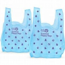 Baby U - Scented Nappy Bags - 50 pack