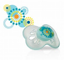 Nuby - Pastels - Classic Oval Pacifier