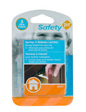 Safety 1st - Spring 'n Release Latches https://babystuff.co.nz/products/safety-1st---spring-n-release-latches Spring loaded for easy use. Wide easy grip surface for quick parent access Simple to install and easy to use Sales channels Manage Available on 4 of 4  Online Store  Facebook Mobile App Aftership store connector Organization Product type  safety Vendor  www.babystuff.co.nz Collections There are no collections available to add this product to. You can add a new collection or modify your existing coll