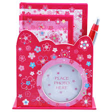 Pink Poppy - Belle Fleur - Lockable Diary with Pen