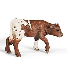 Schleich - Texas Longhorn Calf https://babystuff.co.nz/products/schleich-texas-longhorn-calf Prized for their beauty and intelligence, Texas Longhorns are a unique breed with much to offer.This hand-painted figure of a Texas Longhorn calf measures 6.5(L...