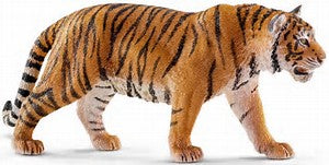 chleich - Tiger https://babystuff.co.nz/products/schleich-tiger Tigers are ferocious felines dressed in orange and black.Fun Fact - Tigers can leap horizontally up to three times their body length.3+ years Sales channels Manage  Available on 1 of 1 Mobile App Organization Product type Vendor Collections  There are no collections available to add this product to. You can add a new collection or modify your existing collections. Tags View all tags