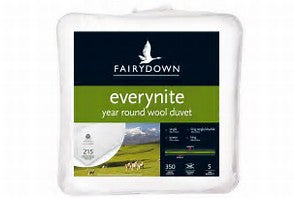 FairyDown - Everynite - Year Round Wool Duvet