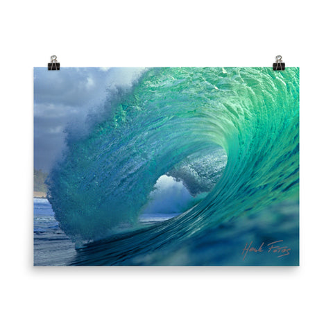 Pipeline Photo paper poster
