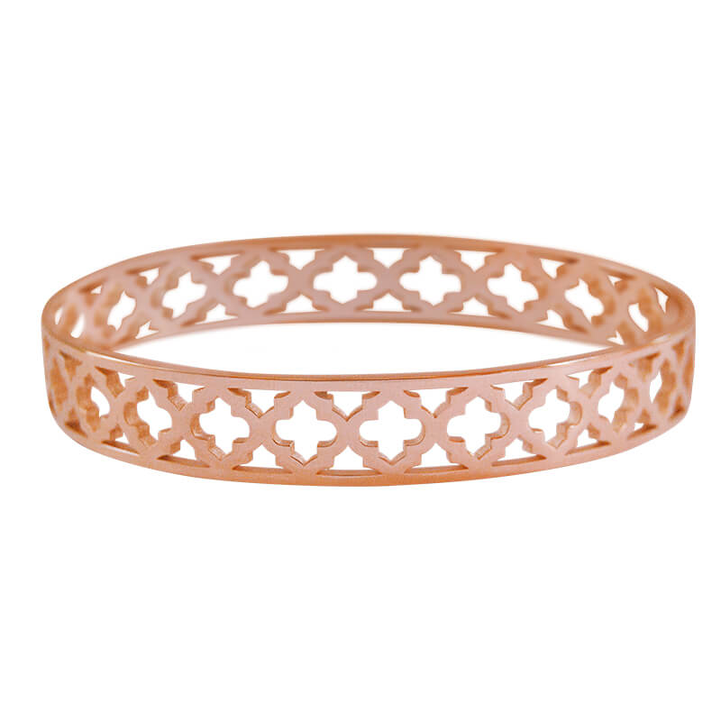 Moroccan Bangle Rose Gold
