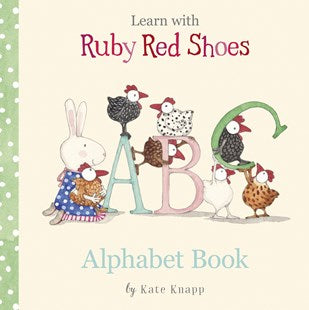 Ruby Red Shoes Alphabet