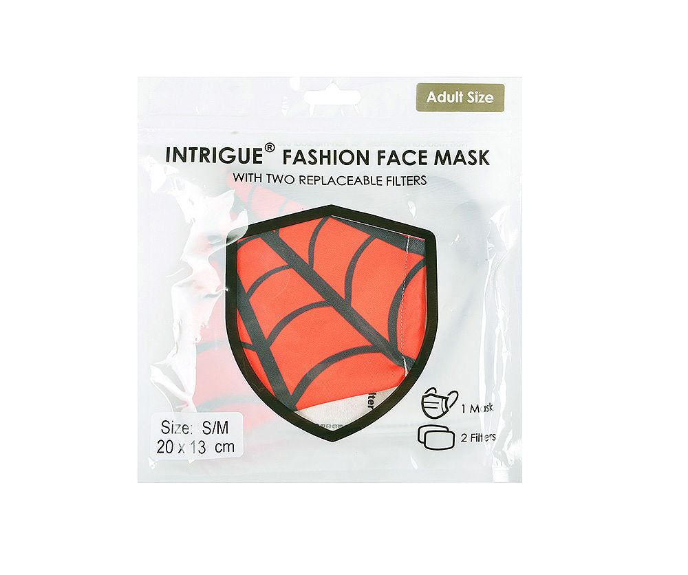 Spider Inspired Face Covering KIDS SIZE