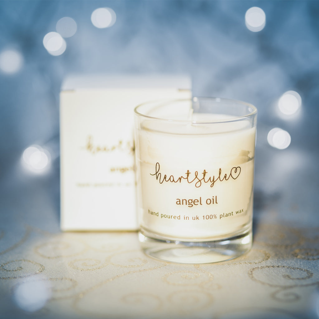Angel Oil Candle
