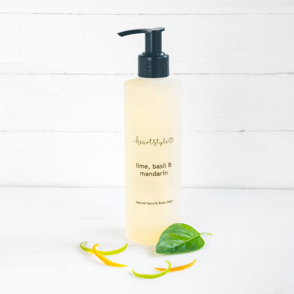 Lime, Basil & Mandarin Hand and Body Wash