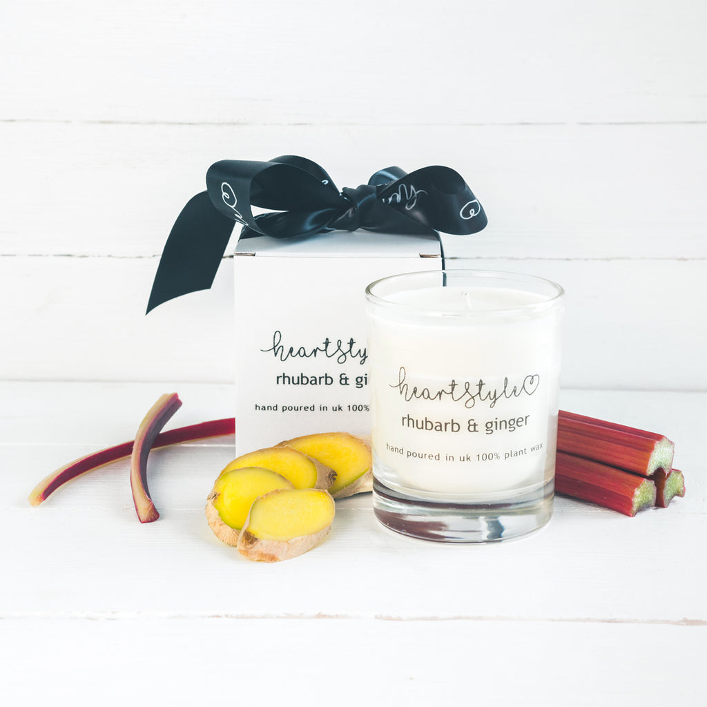 Rhubarb & Ginger Candle