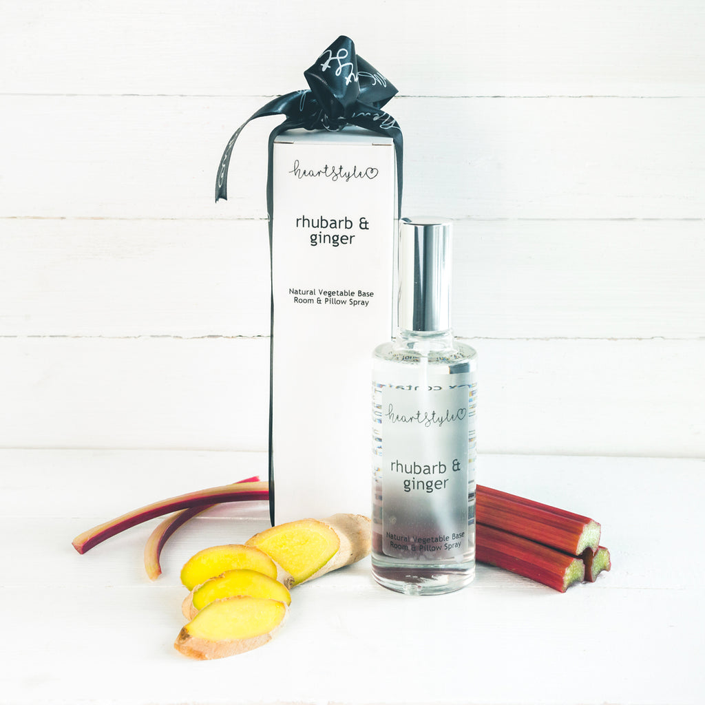 Rhubarb & Ginger Room and Pillow Spray