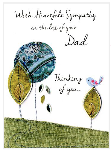 Heartfelt Sympathy for your Dad