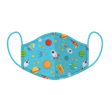 SMALL SIZE - PERFECT FOR KIDS - Space Face Covering