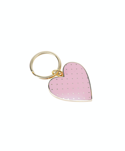 Heart Colourful Keyring
