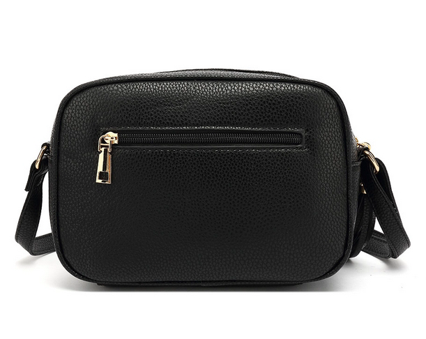 Bella Bee Messenger Bag BLACK