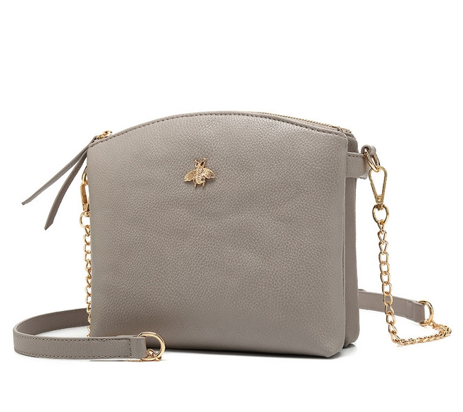 Joan Double Zip Cross-Body Bag Various Colours