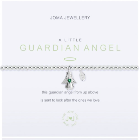 Guardian Angel With Green Gem