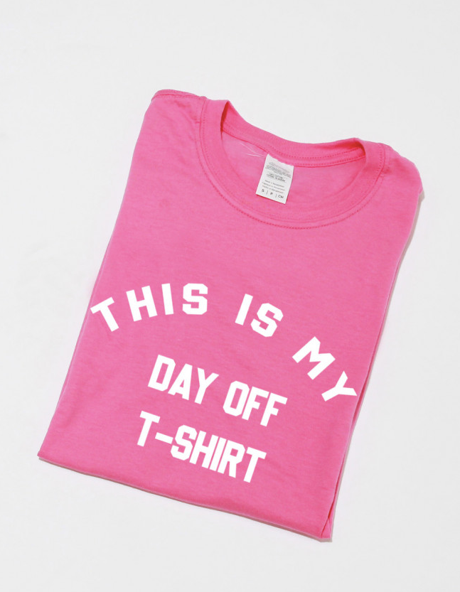 Dayoff Oversized Tshirt in Pink