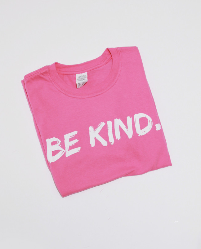 Be Kind Tshirt in Pink