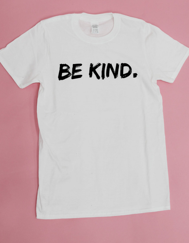 Be Kind Tshirt in White