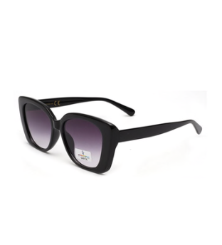 COCO CAT EYE SUNGLASSES BLACK