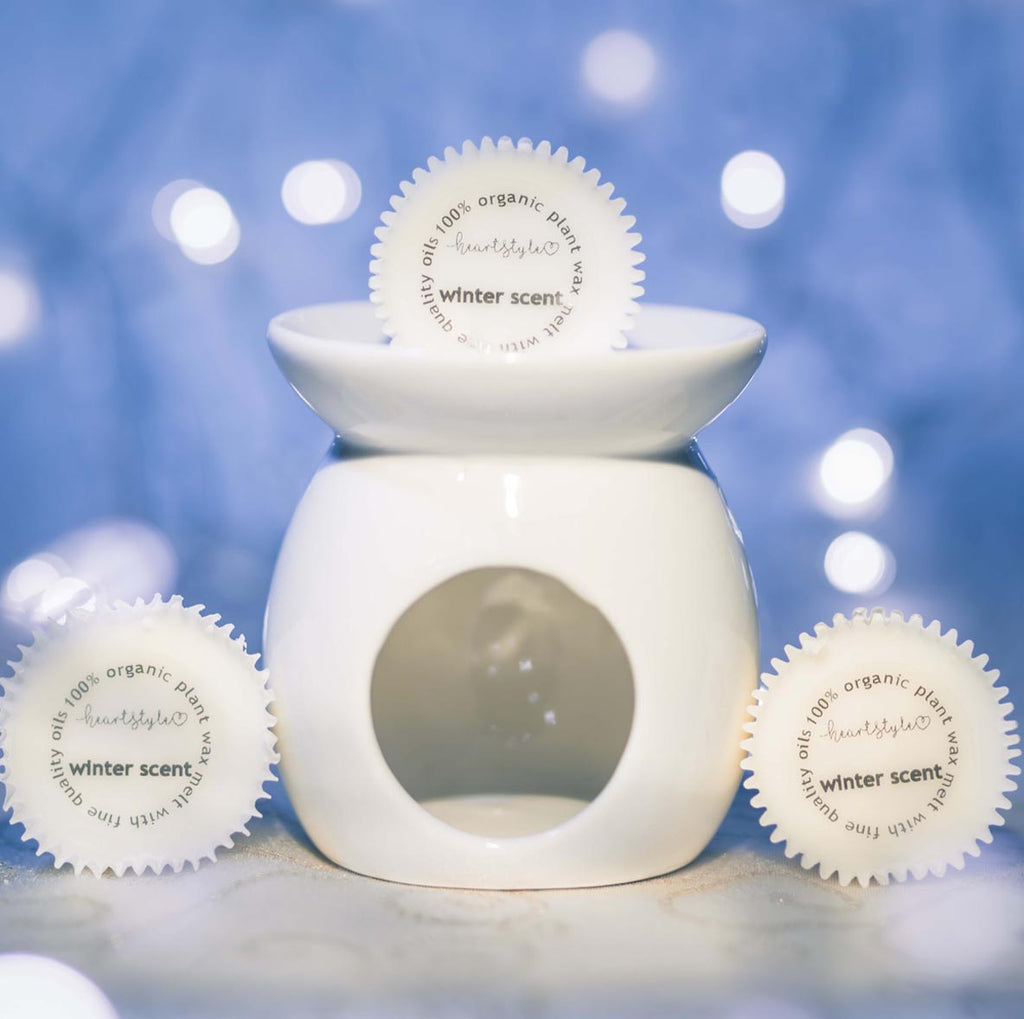 3 Winter Wax Melts And Ceramic Burner