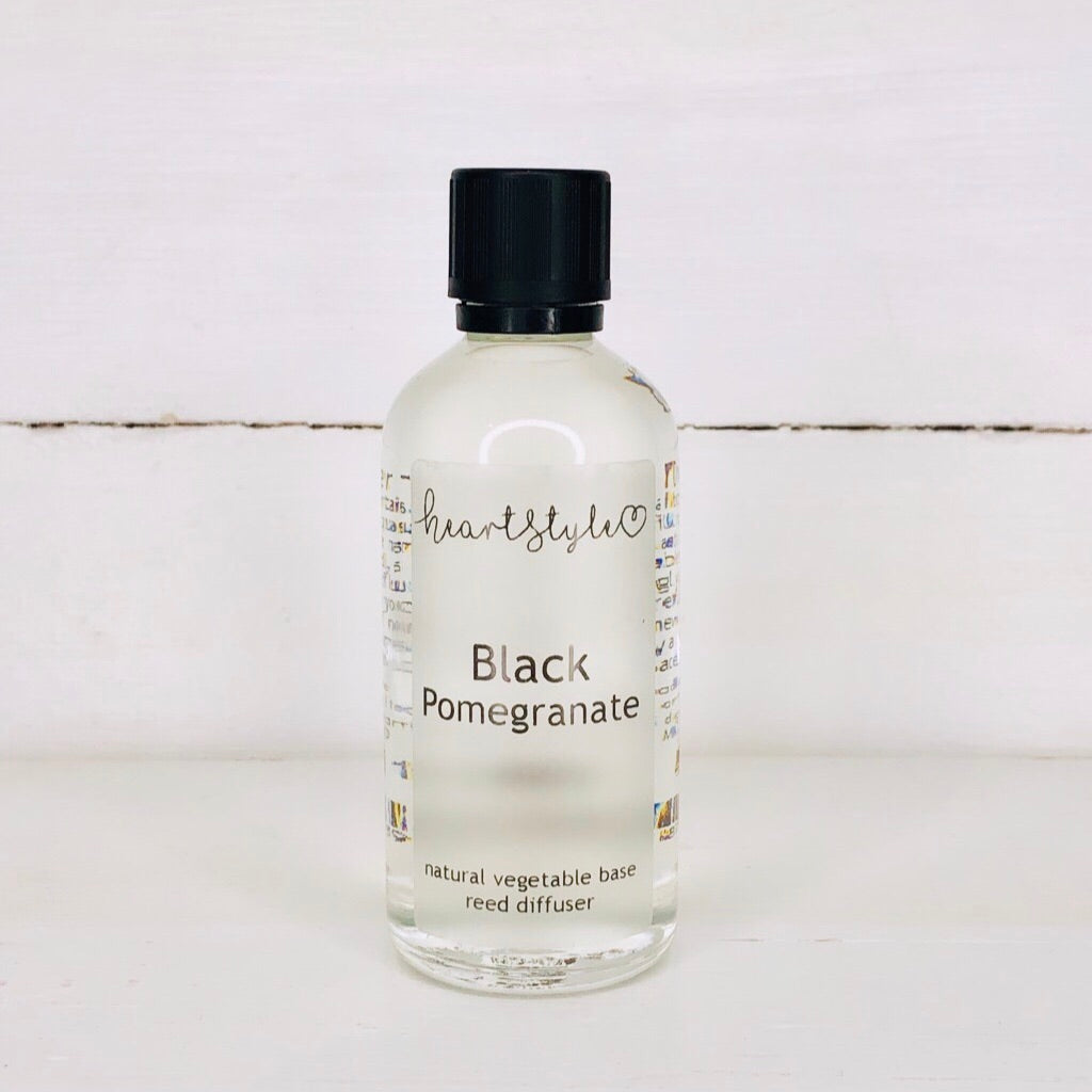 Black Pomegranate Room Diffuser Refill