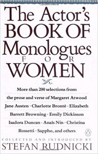 Actors Book of Monologues for Women