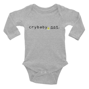 crybaby.not Infant Long Sleeve Bodysuit