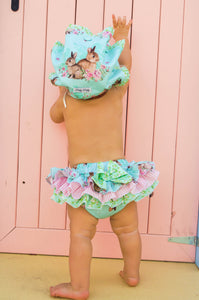 Easter Frilly tushies in mint
