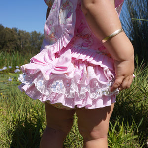 Frilly Milly Pink Santa frilly bums