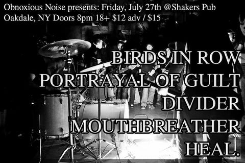 7.27 BIRDS IN ROW/PORTRAYAL OF GUILT/DIVIDER/MOUTHBREATHER/HEAL.