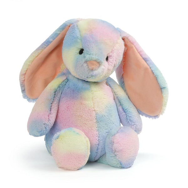 Rainbow Tie-dye Soft Bunny Plush