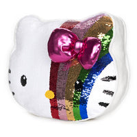 Hello Kitty Sequin Pillow 11.75 inches