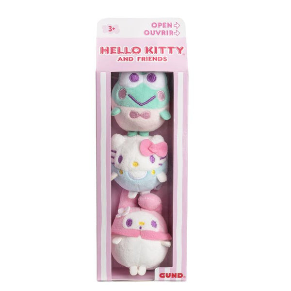 Hello Kitty My Melody Kerropi Mini-Plush Collection Set in a Carton