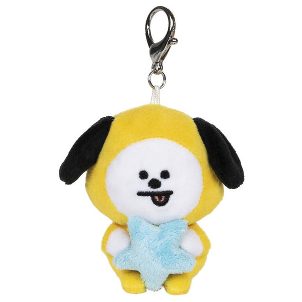 BTS BT21 Chimmy Bumble Keyring Clip
