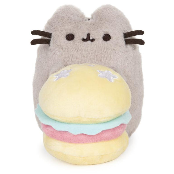 Hamburger Pusheen Limited Edition 10th Anniversary Deluxe Fluffy Push