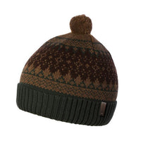 Boys' Brandon Beanie in Brown