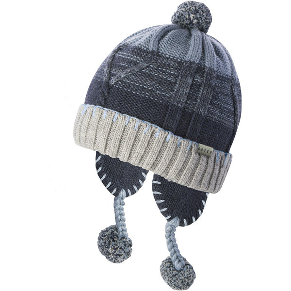 Baby Boys' Charlie Peru Winter Hat in Blue
