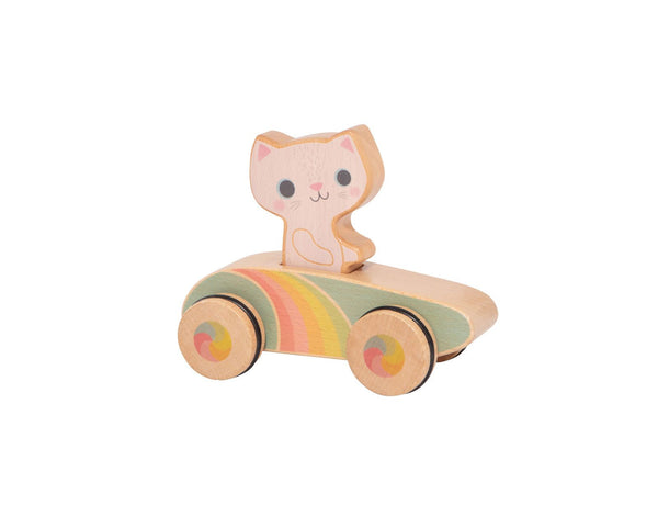Cruisin' Kitty Cat Rainbow Roller