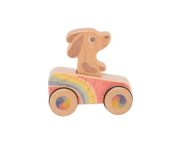 Dash Hound Dog Rainbow Roller