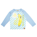 """Banana Friend"" Raglan Sleeve Shirt by Hot Cheese"
