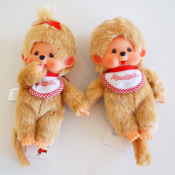 Monchhichi Blonde Doll - 2 sizes