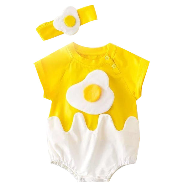 Egg Onesie & Headband Set