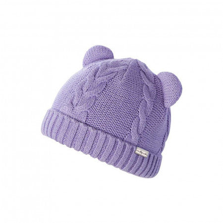 Baby Girls' Morgan Lilac Beanie with Ears