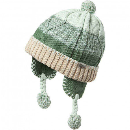 Baby Boys' Charlie Peru Winter Hat in Green