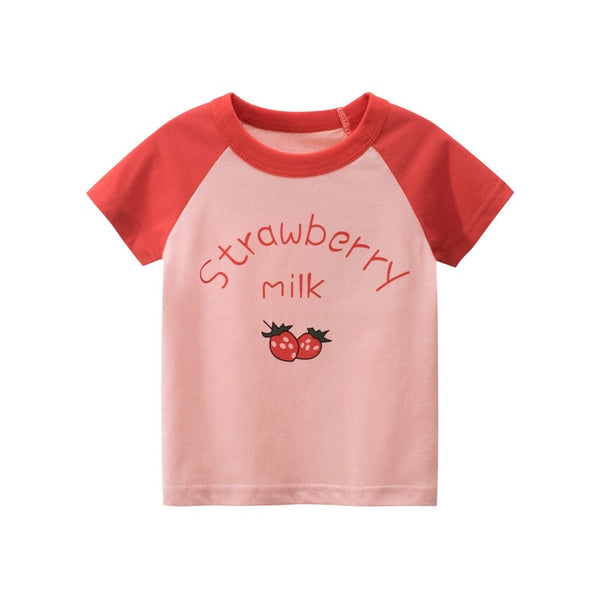 Strawberry Milk Vintage Style T-shirt