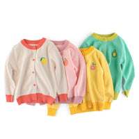 Fruity Cotton Cardigan